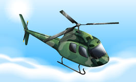 A military chopper Stock Image