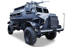 Military - Closeup of tank truck Royalty Free Stock Photos