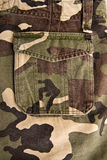 Military cloth pattern Stock Photography