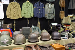 Military Collections Stock Image