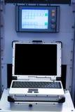 Military communications Stock Image
