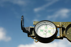Military compass Royalty Free Stock Photos