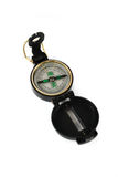 Military compass isolated Stock Photography