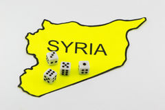 The military confrontation. In Syria Stock Photo