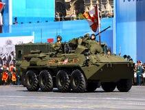 Military convoy Royalty Free Stock Photo