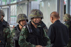 Military coup thailand Stock Photos