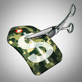 Military Cuts Royalty Free Stock Images