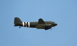 Military Dakota Aircraft. Royalty Free Stock Photo