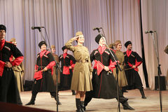 Military dance Royalty Free Stock Images