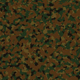 Military dark green woodland digital seamless camo. Pattern Stock Photo