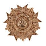 Military decoration. Illustration of a military decoration ispired bu the napoleonic grand aigle de la legion decoration Royalty Free Stock Photography