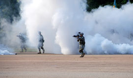 Military Demonstration  Stock Photography