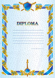 Military diploma Stock Images