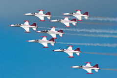Military Display Royalty Free Stock Photos