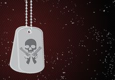 Military dog tags Stock Photography