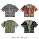 Military dress Royalty Free Stock Photos