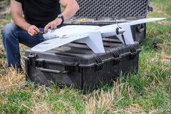 Military drone Stock Photography
