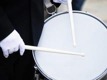 Military drummer Stock Photo