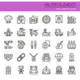 Military Elements Stock Photo