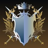 Military emblem Royalty Free Stock Photography