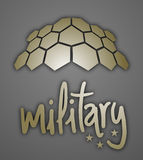 Military emblem Stock Images