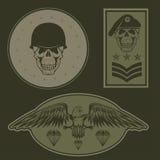 Military emblem set vector design template Stock Photo