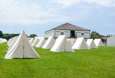 Military encampment Stock Photos