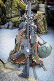 Military equip Stock Photo