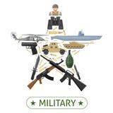 Military Equipment Design Royalty Free Stock Photo