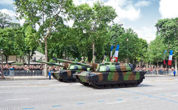 Military equipment at a military parade Stock Photo