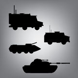 Military equipment. Military transport. Ground forces, military vehicles Royalty Free Stock Photos