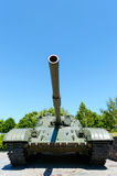 Military equipment. Old tank. Royalty Free Stock Images