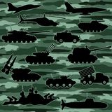 Military equipment. Stock Photos
