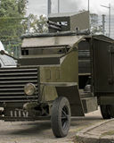 Weapons and equipment - Armoured car Royalty Free Stock Photography
