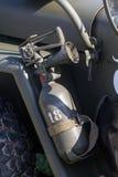 Military extinguisher Royalty Free Stock Photo