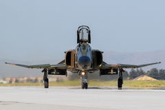 Military F4 Phantom fighter jet Royalty Free Stock Photography