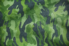 Military fabric. Green Military fabric pattern background Stock Image