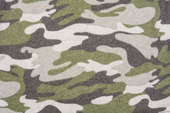 Military fabric camouflage fabric texture Royalty Free Stock Photo