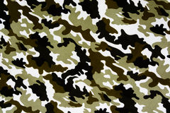 Military fabric pattern Royalty Free Stock Photography