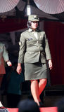 Military fashion show Royalty Free Stock Photography