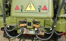 Military field power device Stock Photos
