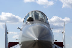 A military fighter Stock Photography