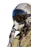 Military fighter pilot uniform Royalty Free Stock Image