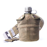 Military flask Stock Images
