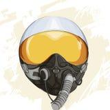 Military flight helmet Stock Images
