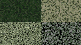Military forest camouflage colors Royalty Free Stock Images