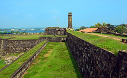 The military fort of Sri Lanka Stock Photography