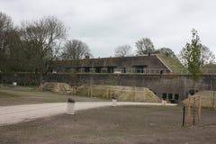 Military fort Vechten in Bunnik in the Netherlands Royalty Free Stock Photos