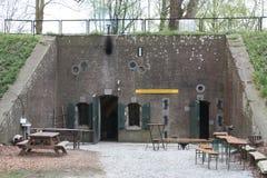 Military fort Vechten in Bunnik in the Netherlands Stock Photos