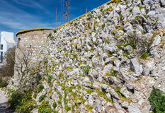 Military fortification Royalty Free Stock Photography